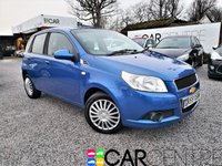 USED 2009 59 CHEVROLET AVEO 1.2 LS 5d 83 BHP 2 PREVIOUS OWNERS + FSH