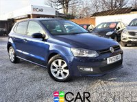 USED 2012 12 VOLKSWAGEN POLO 1.4 MATCH DSG 5d AUTO 83 BHP 1 PREVIOUS OWNER +FULL SERVICE