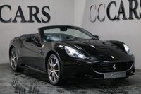 """USED 2011 11 FERRARI CALIFORNIA 4.3 2 PLUS 2 2d AUTO 460 BHP This Sleek and Stylish Ferrari California Exudes Charm and Sophistication while Under the Bonnet Lies a Powerful Naturally Aspirated 4.3 Litre Direct Injection V8 Engine, Delivering Incredible Performance and Producing an Impressive 460bhp. Presented in Nero Daytona with Full Nero Daytona Leather Interior, Distinctive Rosso Red Stitching and Ferrari Embossed Headrests. 20"""" Diamond Alloys with Carbon Ceramic Brakes, Rosso Red Clippers, Rosso Rev Counter and Carbon Fibre Steering Wheel with LED's."""