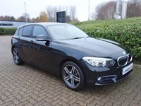 2015 BMW 1 SERIES 1.5 116D SPORT 5d 114 BHP £12490.00