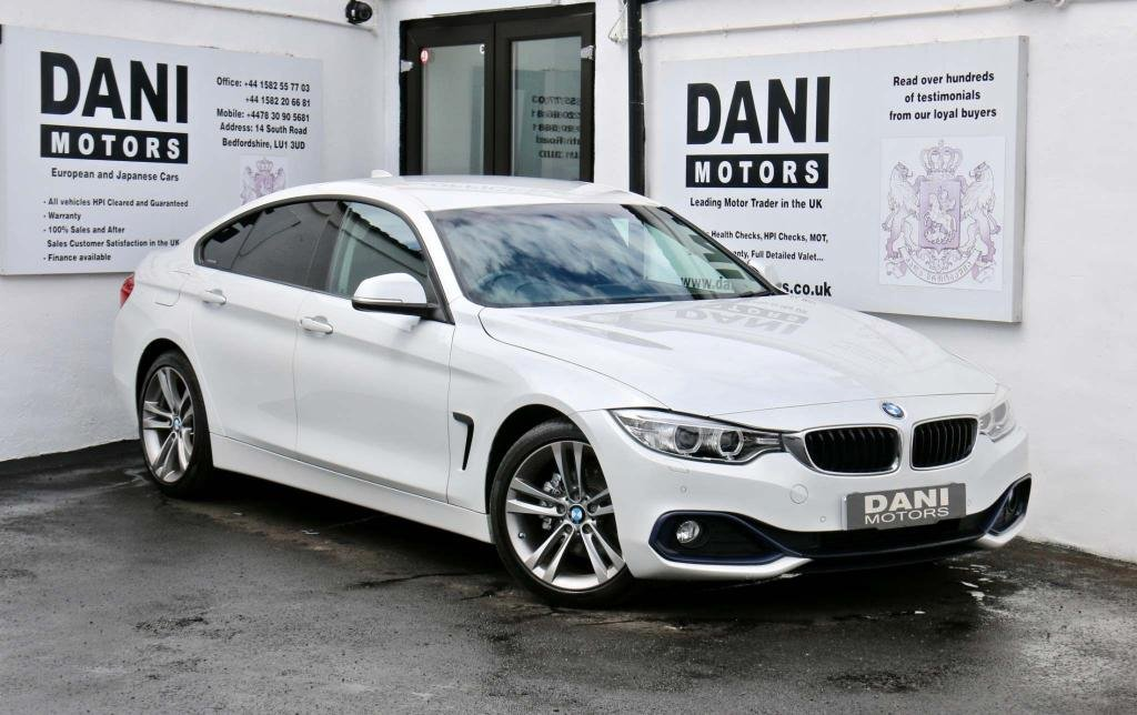 USED 2015 65 BMW 4 SERIES 2.0 420d Sport Gran Coupe (s/s) 5dr 1 OWNER*BIG SATNAV*PARKING AID