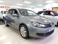 USED 2010 60 VOLKSWAGEN GOLF 1.6 BLUEMOTION SE TDI 5d+SERVICE HISTORY+£20 YEAR ROAD+2 KEYS+