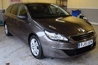 USED 2015 15 PEUGEOT 308 1.6 BLUE HDI SW ACTIVE
