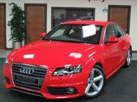 USED 2009 59 AUDI A4 2.0 TDI S LINE 4d 141 BHP