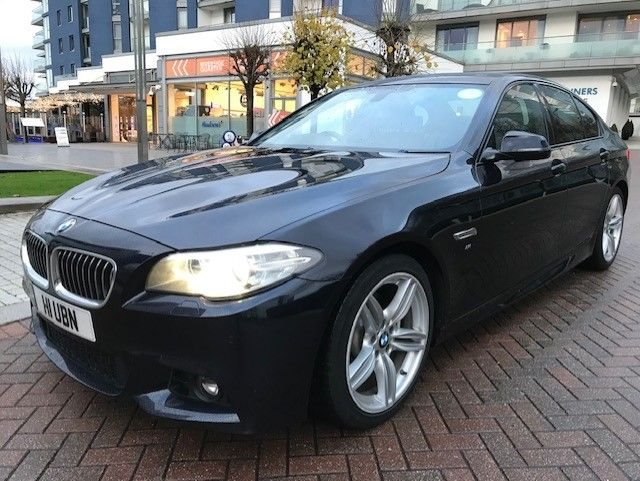 2014 BMW 5 SERIES 2.0 520D M SPORT 4d AUTO 181 BHP