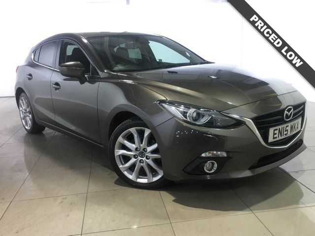 View our 2015 15 MAZDA 3 2.2 D SPORT NAV 5d 148 BHP