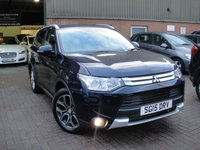 USED 2015 15 MITSUBISHI OUTLANDER 2.3 DI-D GX 4 5d 147 BHP ANY PART EXCHANGE WELCOME, COUNTRY WIDE DELIVERY ARRANGED, HUGE SPEC