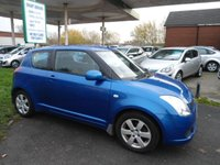 2007 SUZUKI SWIFT 1.3 GL 3d 91 BHP LOW INSURANCE LOW TAX £2995.00