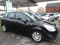 USED 2010 60 VAUXHALL MERIVA 1.4 EXCLUSIV 5d 98 BHP 7 SERVICE STAMPS