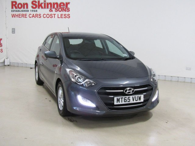 View our 2015 65 HYUNDAI I30 (55)    1.6 CRDI SE BLUE DRIVE 5d 109 BHP