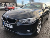 2015 BMW 4 SERIES 2.0 420D SE HARD TOP CONVERTIBLE 2d 188 BHP £16990.00