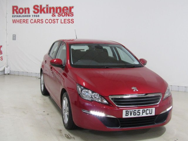View our 2015 65 PEUGEOT 308 1.6 HDI ACTIVE 5d 92 BHP
