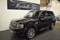 USED 2010 60 LAND ROVER RANGE ROVER SPORT 3.0 TDV6 HSE 5d AUTO 245 BHP HUGE SPEC - HSE LUX - NAV - TV - R/CAMERA - H/STEERING WHEEL