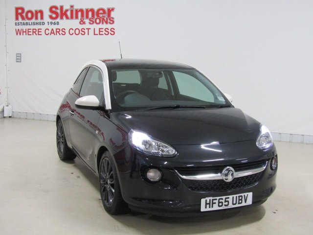 View our 2015 65 VAUXHALL ADAM 1.2 GLAM 3d 69 BHP with Cream Roof