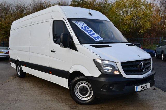 USED 2015 15 MERCEDES-BENZ SPRINTER 2.1 313 CDI LWB 5d 129 BHP LWB ~ HIGH ROOF ~ 6 MONTH WARRANTY ~ 6 MONTHS BREAKDOWN COVER ~ FULL MOT