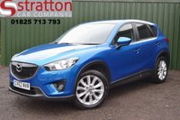 USED 2013 62 MAZDA CX-5 2.0 SPORT NAV 5d 163 BHP High Quality hand picked cars by Stratton Car Company Uckfield Sussex - 01825 713 793