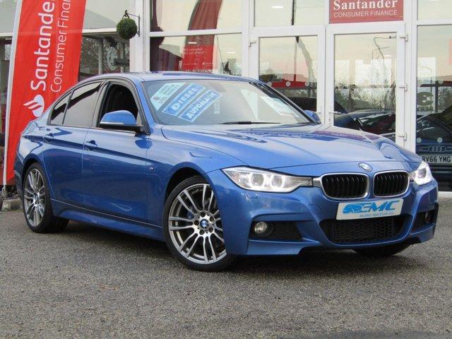 2015 65 BMW 3 SERIES 2.0 320D M SPORT 4d AUTO 181 BHP