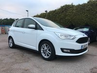 2015 FORD C-MAX 1.6 ZETEC 125 BHP 5d  WITH SAT NAV, 1 PRIVATE OWNER FROM NEW  £9000.00