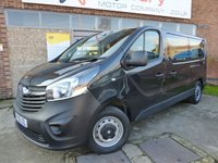 USED 2016 66 VAUXHALL VIVARO 1.6 COMBI CDTI S/S 5d 125 BHP BEST VALUE ON THE INTERNET 9 SEATER WITH NO VAT