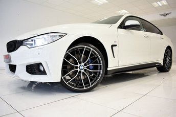 2017 BMW 4 SERIES 420D XDRIVE M SPORT GRAN COUPE AUTOMATIC £27495.00