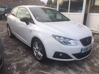 2011 SEAT IBIZA 1.2 TSI SPORTRIDER 3dr PERFECT FIRST CAR - LOW INSURANCE!!! £4995.00