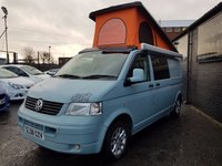 2008 VOLKSWAGEN TDI CAMPERVAN T30 Long Wheel Base TDI 102 BHP £19995.00