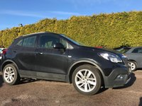 2015 VAUXHALL MOKKA 1.4T EXCLUSIV S/S 5d 140 BHP 1 PRIVATE OWNER FROM NEW  £8500.00