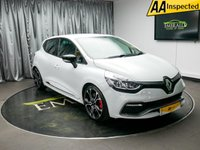 USED 2016 16 RENAULT CLIO 1.6 RENAULTSPORT NAV TROPHY 5d AUTO 220 BHP £0 DEPOSIT FINANCE AVAILABLE, AIR CONDITIONING, AUX INPUT, BASS REFLEX SOUND SYSTEM, BLUETOOTH CONNECTIVITY, CLIMATE CONTROL, CRUISE CONTROL, DAB RADIO, DAYTIME RUNNING LIGHTS, GEARSHIFT PADDLES, KEYLESS START, PARKING SENSOR, R LINK MEDIA SYSTEM WITH TOUCH SCREEN, START/STOP SYSTEM, STEERING WHEEL CONTROLS, TRIP COMPUTER