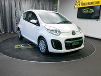 USED 2013 13 CITROEN C1 1.0 VTR 3d 67 BHP £0 DEPOSIT FINANCE AVAILABLE, AIR CONDITIONING, AUX INPUT, CD/MP3/RADIO, DAYTIME RUNNING LIGHTS, ORSAI CLOTH UPHOLSTERY, TRIP COMPUTER