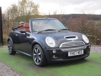 2007 MINI CONVERTIBLE 1.6 COOPER S SIDEWALK 2d 168 BHP £4490.00