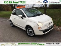 2011 FIAT 500 1.2 LOUNGE 3d 69 BHP £4450.00