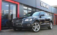 USED 2015 15 AUDI Q5 2.0 TDI QUATTRO S LINE PLUS 5d AUTO 187 BHP PANORAMIC ROOF*PRIVACY GLASS*FSH HEATED LEATHER*1 PREVIOUS OWNER*FSH**FOLDING MIRRORS*CRUISE CONTROL*FLAT BOTTOM STEERING WHEEL*AUDI PARKING SYSTEM PLUS*2 X KEYS*WELL LOOKED AFTER CAR*MOT EXPIRY 19/8/19*GREAT SPEC*LED XENON HEADLIGHTS*IDEAL FOR WINTER*