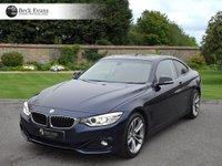 USED 2015 15 BMW 4 SERIES 2.0 428I SPORT 2d AUTO 242 BHP SATELITE NAVIGATION