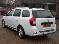 USED 2014 64 DACIA LOGAN MCV 1.5 LAUREATE DCI 5d 90 BHP FREE ROAD TAX - 80.7 MPG EXTRA
