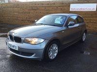 2010 BMW 1 SERIES 2.0 116D ES 3d 1 YEARS MOT £6000.00