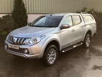 USED 2015 65 MITSUBISHI L200 2.4 DI-D 4X4 BARBARIAN DCB 1d 178 BHP MASSIVE SPEC, LEATHER, SAT NAV, REVERSE CAMERA, BLUETOOTH