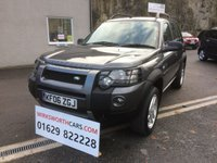 USED 2006 06 LAND ROVER FREELANDER 2.0 TD4 HSE 5d 110 BHP ONLY 2 FORMER KEEPERS ** FSH ** FULL BLACK LEATHER