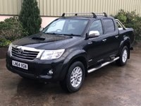 USED 2014 64 TOYOTA HI-LUX 3.0 INVINCIBLE 4X4 D-4D DCB 1d AUTO 169 BHP GREAT SPEC, LEATHER, ROLLER SHUTTER, LINER, AUTO, ROLL BAR