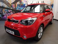 2014 KIA SOUL 1.6 CRDI CONNECT 5d 126 BHP £8994.00