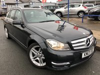 USED 2013 13 MERCEDES-BENZ C CLASS 2.1 C250 CDI BLUEEFFICIENCY AMG SPORT 5d AUTO 202 BHP LEATHER UPHOLSTERY+BLUETOOTH+FULL MERC HISTORY+AMG ALLOYS