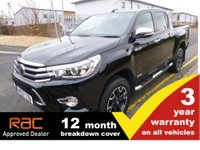 2017 TOYOTA HI-LUX Double Cab 2.4 INVINCIBLE X 150ps Nav & Leather £22995.00