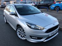 USED 2015 65 FORD FOCUS 1.5 ZETEC S TDCI 5d 118 BHP UPGRADED ALLOYS + REAR PRIVACY GLASS + AIR CON + ZETEC S BODY KIT