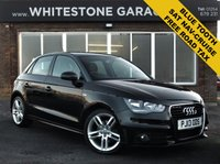 USED 2013 13 AUDI A1 1.6 SPORTBACK TDI S LINE 5d 105 BHP 1 LADY OWNER PLUS AUDI, FREE TO TAX,  DIESEL S-LINE,  FULL SERVICE HISTORY,  SAT NAV, BLUETOOTH. CRUISE CONTROL.