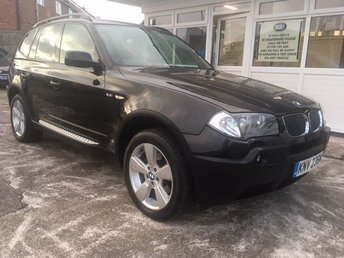 2004 BMW X3 2.5 SPORT 5d AUTO FULL BLACK LEATHER - COLOUR SAT NAV!!!! £4495.00
