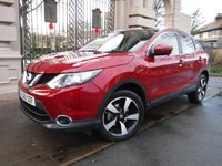 USED 2015 65 NISSAN QASHQAI 1.5 DCI N-TEC PLUS 5d 108 BHP FINANCE ARRANGED***PART EXCHANGE WELCOME***1 OWNER***SAT NAV***360 CAMERAS***FULL GLASS PANORAMIC ROOF***