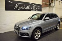 USED 2010 60 AUDI Q5 2.0 TDI QUATTRO S LINE 5d 168 BHP 4X4  S/H TO 72K INCL CAMBELT - LEATHER - NAV - S LINE - 4X4 QUATTRO
