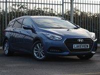2015 HYUNDAI I40 1.7 CRDI SE NAV BUSINESS BLUE DRIVE 5d 139 BHP £10769.00