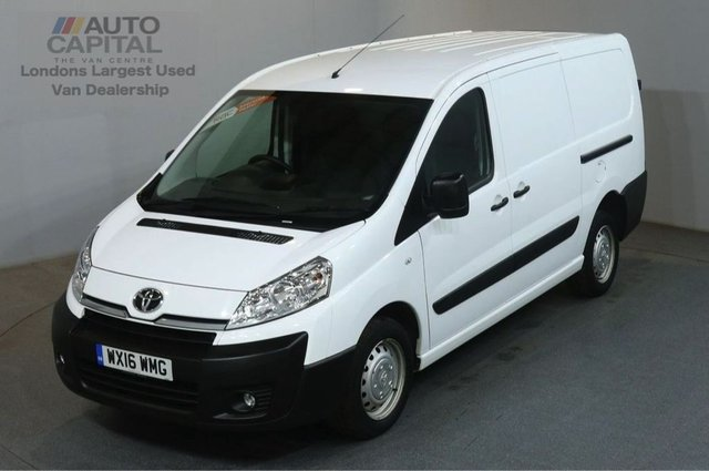 2016 16 TOYOTA PROACE 2.0 L2H1 HDI 1200 6d 127 BHP LWB AIR CON VAN FOG LAMPS AIR CONDITIONING