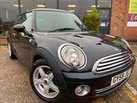 2008 MINI HATCH ONE 1.4 ONE 3d 94 BHP £3295.00