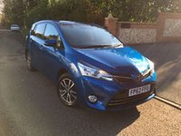 2013 TOYOTA VERSO 2.0 ICON D-4D 5d 122 BHP 7 SEATS PLEASE CALL TO VIEW £SOLD